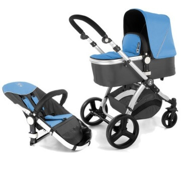 Froggy® Kinderwagen MAGICA Blau - 1