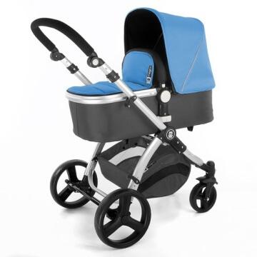 Froggy® Kinderwagen MAGICA Blau - 2