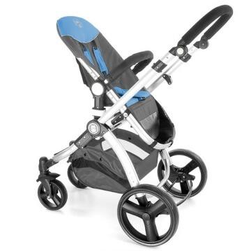Froggy® Kinderwagen MAGICA Blau - 3
