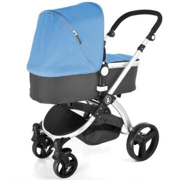 Froggy® Kinderwagen MAGICA Blau - 4