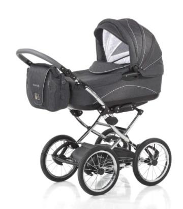 Knorr-Baby 36000-8 Kombikinderwagen Classico, grau - 1