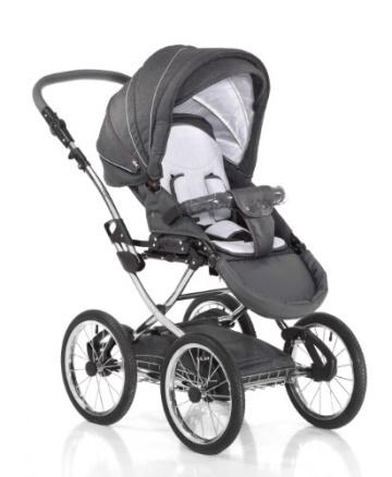 Knorr-Baby 36000-8 Kombikinderwagen Classico, grau - 3