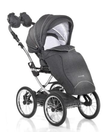 Knorr-Baby 36000-8 Kombikinderwagen Classico, grau - 4