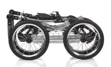 Knorr-Baby 36000-8 Kombikinderwagen Classico, grau - 6