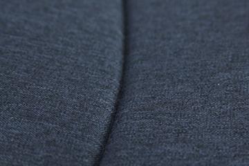 My Junior+® Miyo 3in1 Kombikinderwagen Komplettset bis zum 4.Lebensjahr---3 Years Guarantee---+Autositz (11-Teile-Megaset) Premium Kinderwagen (Jeans-Blue White Edition) - 7