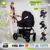 My Junior+® Miyo Kombikinderwagen 3 in 1-3 Years Guarantee-Autositz (11-Teile-Set) - 1