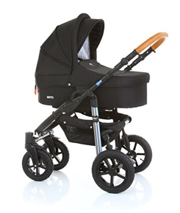 My Junior+® Miyo Kombikinderwagen 3 in 1-3 Years Guarantee-Autositz (11-Teile-Set) - 2