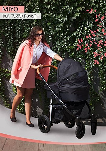My Junior+® Miyo Kombikinderwagen 3 in 1-3 Years Guarantee-Autositz (11-Teile-Set) - 6