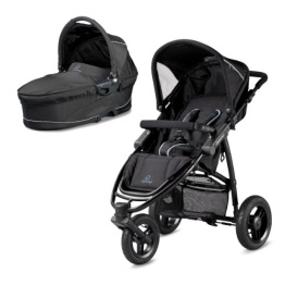 Quinny 77805990 - Speedi-Set Travelsystem (2 in 1 Kombikinderwagen) fast black - 1